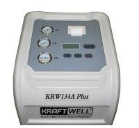 KRW134A PlusPR KraftWell Станция автоматическая для заправки автокондиционеров с принтером - вид 1 миниатюра